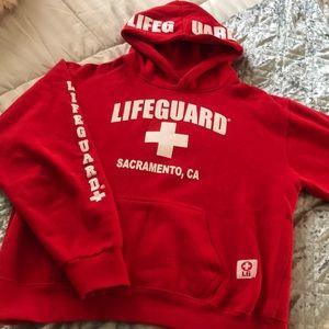 Lifeguard hoodie sweatshirt